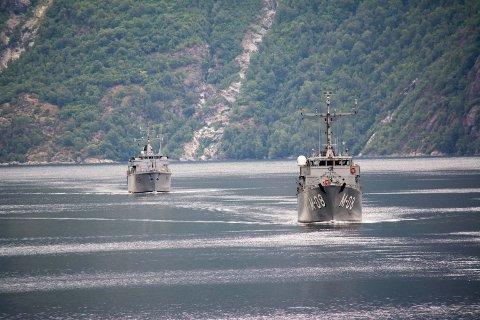 NATOs minejaktstyrke kommer til Bodø 3. august.