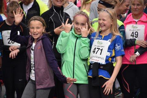 God stemning: Det var mange blide som deltok på Bodø Run Festival i fjor. I år kan det bli rekord. Foto: Per-Atle Karlsen