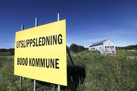 Renseanlegget i Bodøjøen er ute av drift
