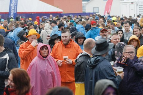 Bilde fra den første utgaven av Gatafestivalen i Fauske.