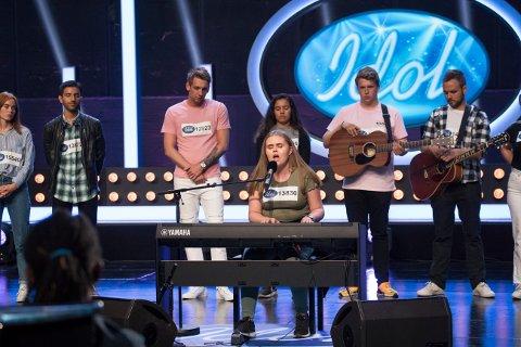 Bootcamp: Mathilde Tverbakk (18) fra Bodø kom videre fra audition. Nå skal hun kjempe seg videre fra bootcamp.