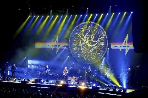 Spektakulært: Brit Floyd har et spektakulært lysshow.