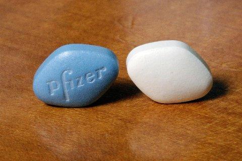 VIAGRA: Snart kan du kjøpe Viagra respetfritt på apoteket. Foto: NTB Scanpix
