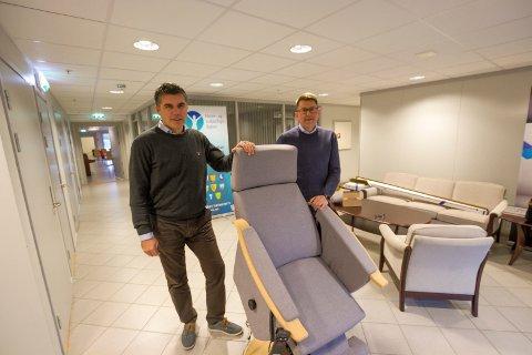 Hepro Group AS. Administrerende direktør Kurt-Are Kristoffersen og Truls Martin Aanstad, økonomidirektør.