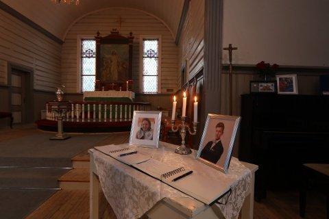 Minnestund i Fauske kirke for Alexander Sollihaug (18) og Elias Dypaune (18).