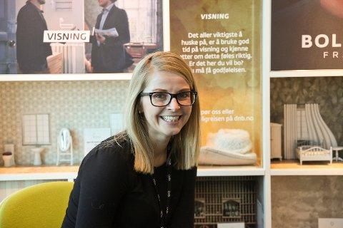 Karianne Dalsbø er banksjef i DNB. Pensjonsgapet er