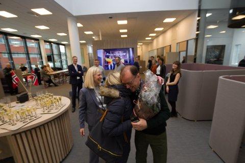 Åpning av de nye banklokalene i Bodø til Sparebank 1 Nord-Norge.