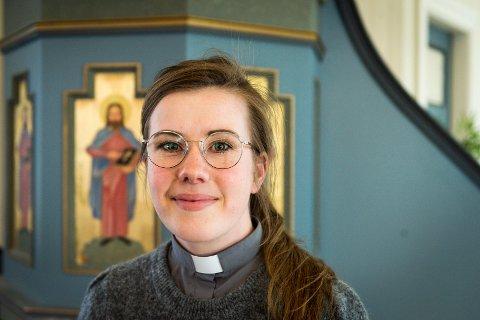 Kristin Jenssen begynner i jobb som ungdomsprest i Rønvik menighet til sommeren.