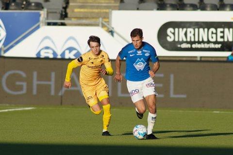 Håkon Evjen skal spille U20-VM i Polen, og dermed har NFF flyttet møtet mellom Glimt og Kristiansund 26. mai. Jens Petter Hauge er også tatt ut i troppen.