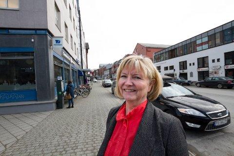 Wenche Henningsen, banksjef i Nordea - personmarked