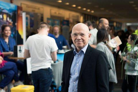 Reid Hole, prorektor for forskning og utvikling. Foto: Svein-Arnt Eriksen