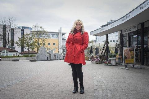 Hanne Myrvang trives godt i sin nye by.