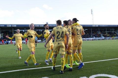 Glimt-spillerne må slå tilbake etter tapet mot Brann i cupen mot Strømmen onsdag. Foto: Mats Torbergsen / NTB scanpix
