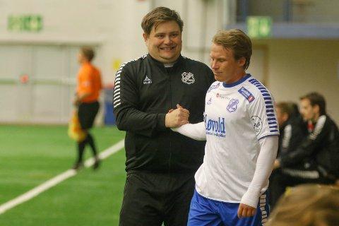 Joachim Kildal, Fredrik Pettersen og Junkeren møter tøff motstand i 1. runde i cupen, hjemme mot Strømmen onsdag. Foto: Bjørn Erik Olsen