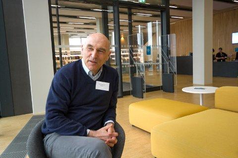 Arthur Buchardt kom 15 mars til konferansen grønt skifte i byggenæringen.  Ett seminar i regi av Fylkesmannen i Nordland og Skognæringsforum Nordland