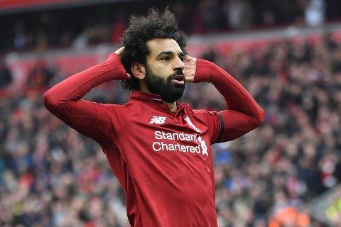 NY SESONG NÆRMER SEG: Mohammed Salah og Liverpool er blant lagene som vil forsøke å vippe Manchester City ned fra tronen. Foto: Paul Ellis (AFP / NTB scanpix)