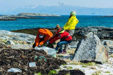 Store mengder mat avfall er fjernet fra Karlsøyvær.