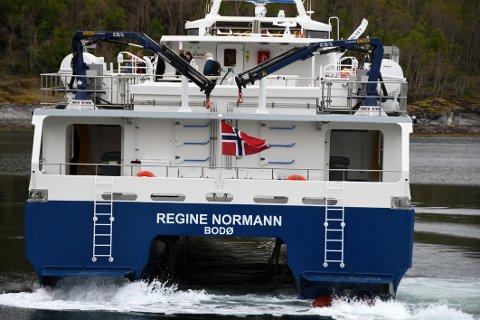 Mer å gjøre: De nye båtene i Nordlandsekspressen får en travel sommer med økt trafikk og ekstra rutetilbud mellom Bodø, Steigen og Hamarøy på dagtid.