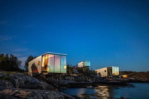 Attraktivt: Øye Manshausen til Børge Ousland har vist seg å være et attraktivt reisemål for folk fra både inn- og utland.