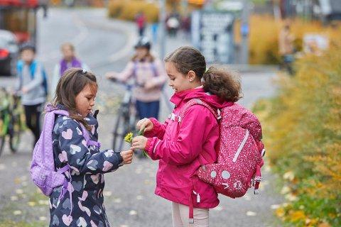 Foreldre og barn må få bedre muligheter til å gi innspill til hvordan skoleveiene kan bli tryggere, mener NAF. (Foto: NAF)