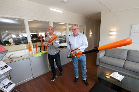Restech Norway AS. Administrerende direktør Roger Kristensen (t.h) og administrasjonssjef Espen Martinussen.