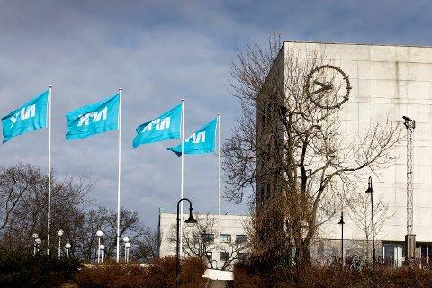 NRKs hovedkontor på Marienlyst i Oslo. Mediekjempen har vært gjennom kraftige omstillinger.  Foto: Gorm Kallestad (NTB scanpix)