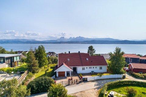 Jensvollveien 32: Kan bli dyreste enebolig solgt på Alstad i Bodø.