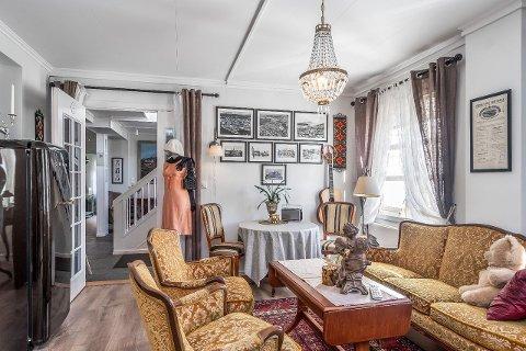 Opsahl Gjestegaard er byens eldste pensjonat og det har en helt særegen still.