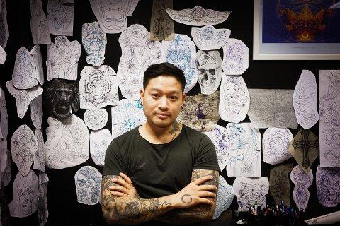 Bank Waiyarot kunne gjerne vært foruten alle tatoveringene.