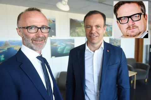 Både Svein Eggesvik(Sp) og Tomas Norvoll har måtte administrere regjeringens poltikk, den ene belønnes av velgerne, den andre straffes hardt.