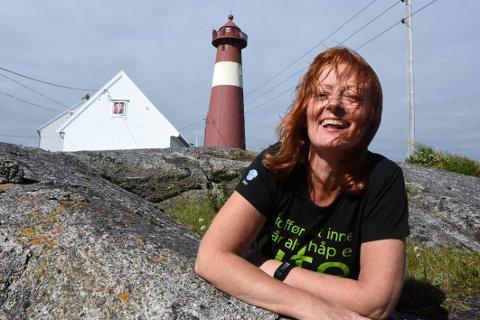 Står på: Sommersesongen 2019 er for lengst over men driveren på Tranøy Fyr, Anne-Gry Jakobsen, holder det fortsatt gående med ulike aktiviteter.