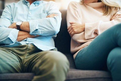 SKILSMISSE: En studie fra Danmark kartlegger de fire vanligste årsakene til at folk skiller seg.