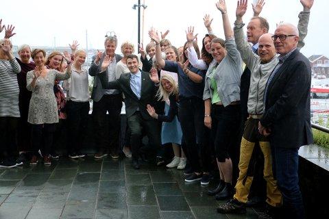 Flere møtte opp for å høre om Klimapartnere Nordland.