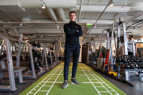Gjør suksess: Argjent Ahmeti (26) mener det er blitt hipt å ha personlig trener. I fjor tjente han 1,2 millioner kroner på PT-jobben.