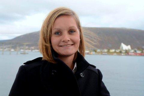 NY JOBB: Asta Lassesen fra Tromsø begynte som finansdirektør i Hurtigruten i 2011. Nå blir hun administrerende direktør.