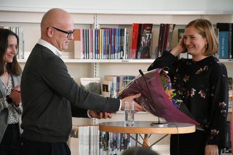 Satser: Selv kringkastingssjef Thor Gjermund Eriksen kom til Bodø for å kaste glans over nyheten om at NRK utvider i Bodø.