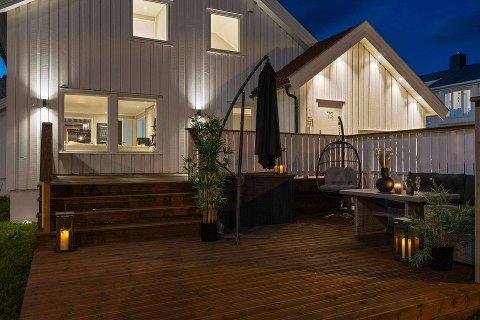 Legges ut for salg: Denne boligen i Bodø kommer snart ut på markedet. Martin Antonsen (21) velger nå å selge boligen sin, for i neste uke er han klar til å starte innflyttingen til det som per nå er Bodøs dyreste enebolig. Alle foto: DNB Eiendom