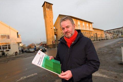 Leder i Bodø Høyre, Lars Vestnes, mener nordområdemeldingen er verdifull om nordlendingene bruker den rett.