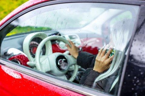 Nordmenn i 30-årene stresser mest på veien. Foto: Frende Forsikring.
