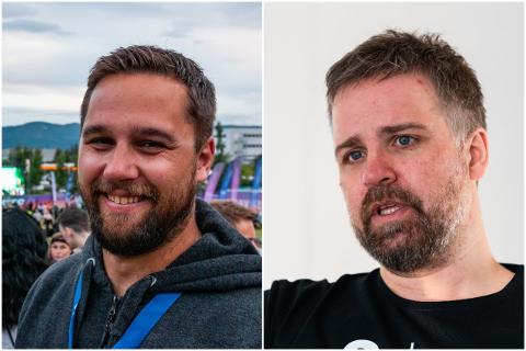 Stort engasjement: Både Ørjan Strand og Øivind Holthe brenner for det de driver med, og de legger ned utallige mange timer med jobb sammen med teamene sine hvert år for å skape best mulige opplevelser.