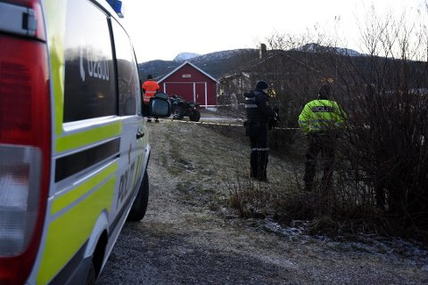 En mann i 40-årene omkom i en ATV-ulykke i Sørfold. Foto: Christian A. Unosen