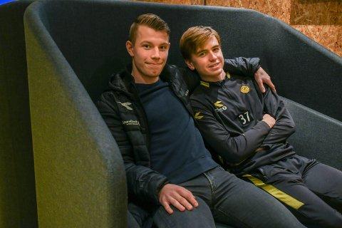 Runar Hauge og Ask Tjærandsen-Skau skal begge på lån til Stjørdals-Blink den kommende sesongen.