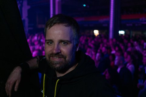 Øivind Holthe, festivalsjef for Blåfrost, kan smile etter et solid overskudd.