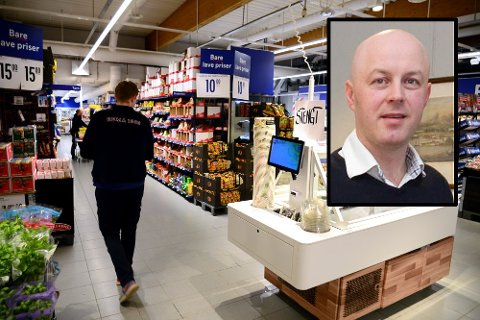 Regiondirektør Thomas Brede Johansen føler med bransjene som er rammet av koronarestriksjoner, men gleder seg over at mye av omsetningen tilfaller dagligvare.