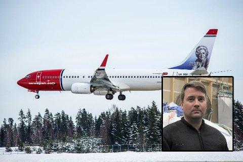 GRAN CANARIA: Lars Stian Johansen kom hjem med sydenflyet, natt til søndag.