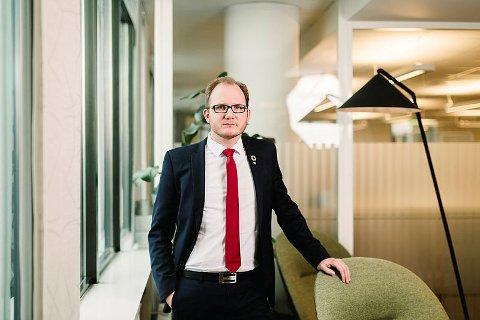 Regiondirektør i NHO Nordland, Daniel Bjarmann Simonsen.