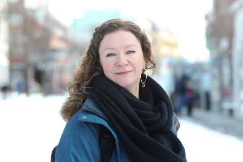 Daglig leder Wanja Sæther ved Krisesenteret i Salten.