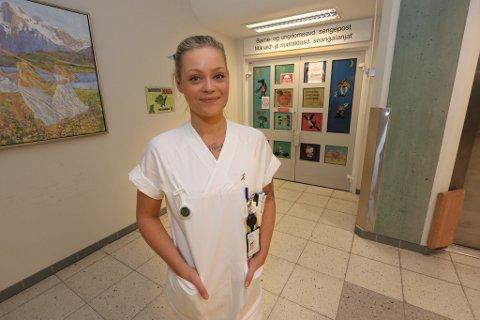 - ALVORLIG: Tonje Randisdatter Tunheim er sykepleier og politiker.