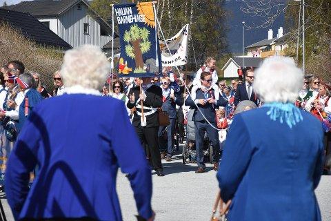 Slik blir det ikke under årets feiring av nasjonaldagen i Fauske. Foto: Christian A. Unosen