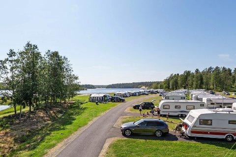 STOR ANDEL NORDMENN: Ved First Camp Arcus-Luleå er det i høysesongen på sommeren opp mot 95 prosent norske gjester. Det ser ikke ut til å bli slik i år.